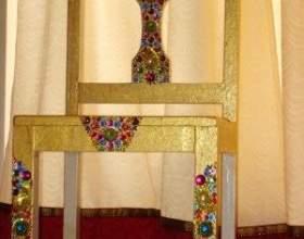 Декор стільця фото