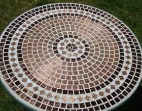Декорування стільниць мозаїкою фото