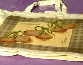 Декупаж на тканині | майстер клас по декупажу полотняної сумки фото