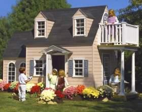 Дитячі ігрові будиночки своїми руками фото