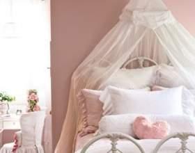 Інтер`єр спальні в стилі вінтаж фото