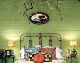 Цікава спальня в стилі фільму жахів фото