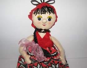 Виготовлення ляльки-пакетніци - майстер клас фото