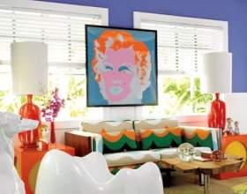 Яскраві кольори в інтер`єрі - завжди доречний позитив фото