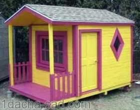 Як побудувати дачний будиночок (врем`янку) з дерев`яних піддонів - майстер-клас фото