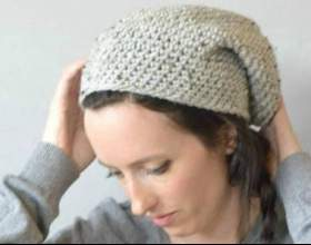 Як зв`язати шапку гачком? фото