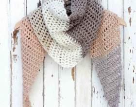 Як зв`язати шарф гачком? фото
