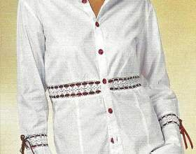 Як прикрасити блузку своїми руками фото