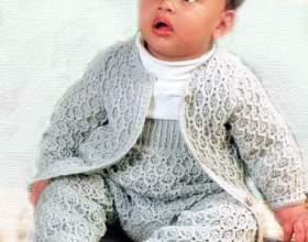 Костюмчик для малюка гачком фото