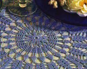 Круглі серветки гачком зі схемами - filethakeln за 03.2005 фото