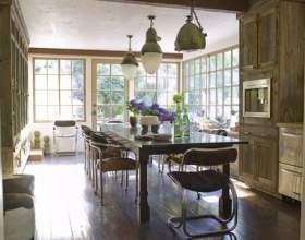 Кухня з патиною часу фото