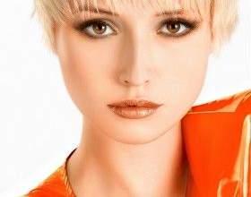 Макіяж для блондинок з карими очима фото