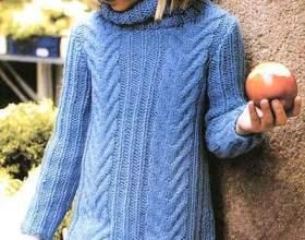 Плаття для дівчинки спицями фото