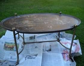 Реставрація столу фото