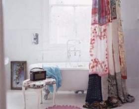 Романтичний декор будинку - рюші і печворк фото