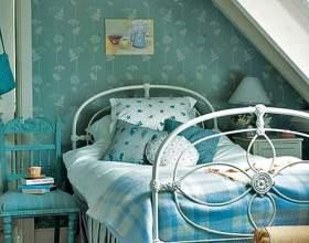 Топ 9 - найкрасивіші спальні в блакитному кольорі фото