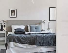 """Затишна спальня в скандинавському стилі С""""РѕС'Рѕ"""