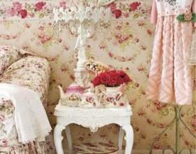 Вінтажна спальня фото