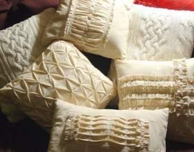 Вантажний декор подушок своїми руками фото