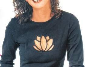 Вишивка на пуловері фото